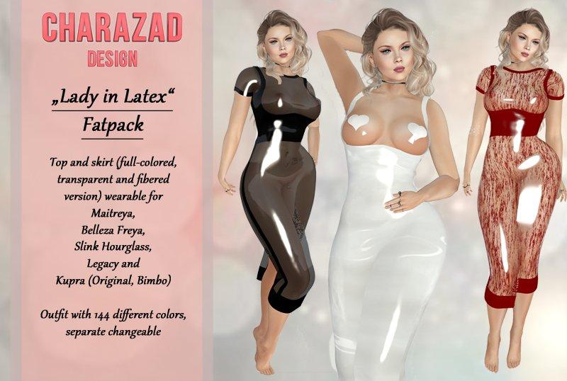 foto lady in latex web