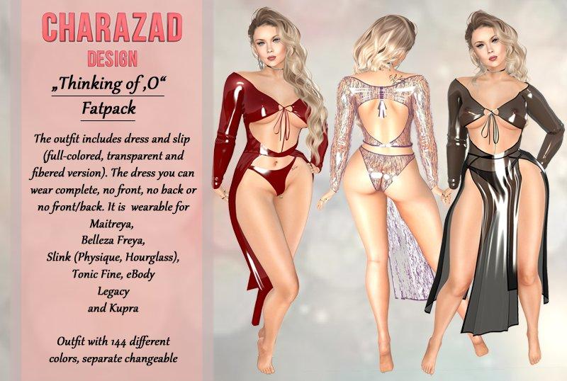 """Charazad """"Thinking of 'O'"""""""